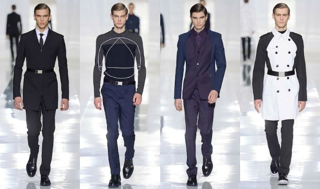 Dior Homme Leaps Into Space