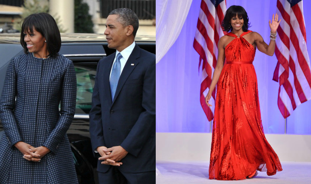 Michelle Obama Rocks American Couture