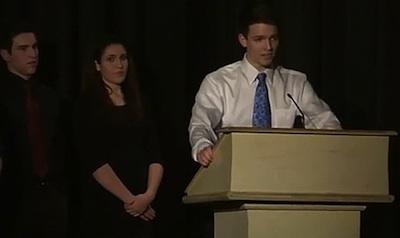 WATCH: Teen Comes Out During High School Awards Ceremony