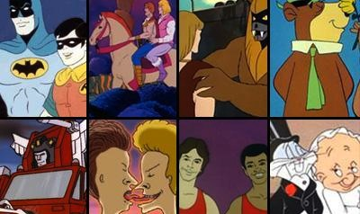 The Gayest Cartoon Couples