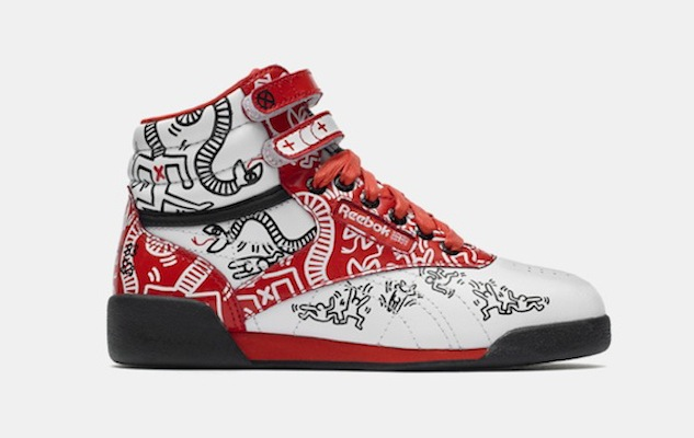 Reebok Launches Keith Haring Sneakers