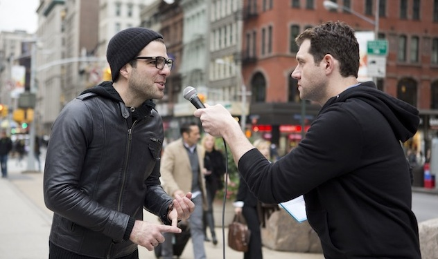 First Look: Zachary Quinto on 'Billy on the Street'