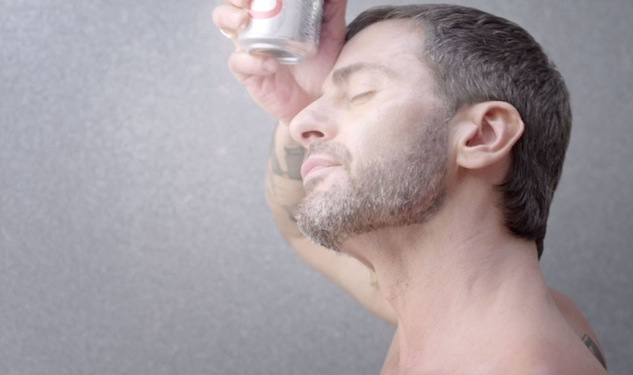 Marc Jacobs Shirtless In New Diet Coke Campaign