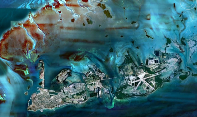 Artifact: Key West From Space