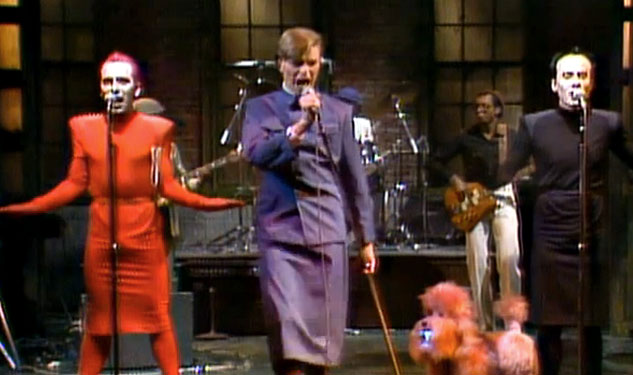 My Saturday Night (Live) With Bowie