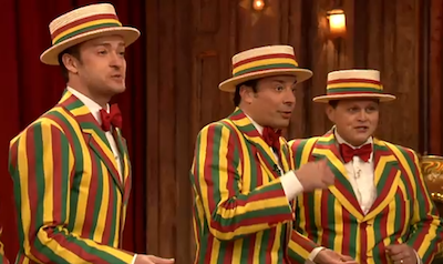 WATCH: Justin Timberlake Bring Sexy Back (as a Barbershop Quartet)
