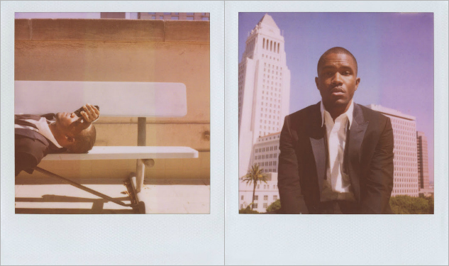 Frank Ocean Models For Band of Outsiders