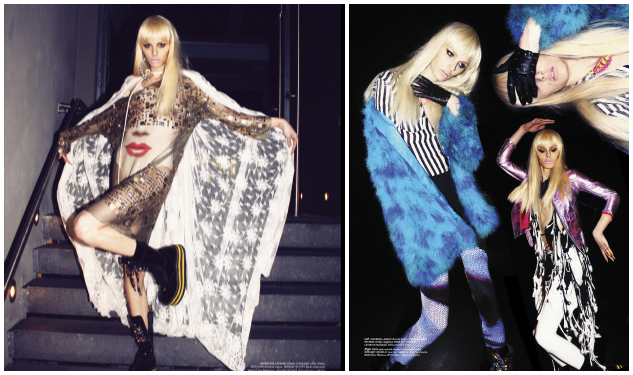 First Look: Andrej Pejic In 'Galore' Magazine