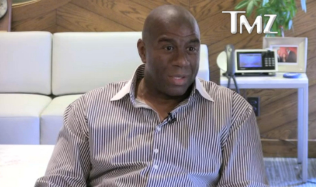 Magic Johnson Speaks Out For His Gay Son