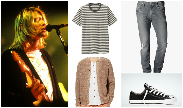 Get The Look: Kurt Cobain