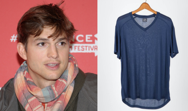 Wear Ashton Kutcher's Tee