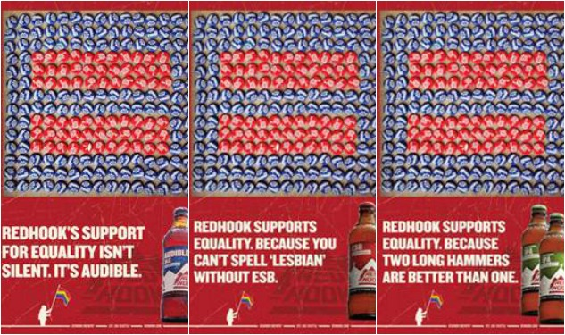 You Can't Spell Lesbian Without ESB: Redhook Brewery Promotes Marriage Equality