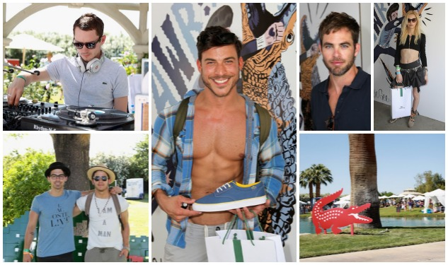 LACOSTE L!VE Desert Pool Party