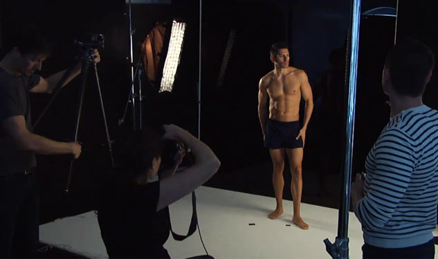 Behind the Scenes – OUT Grooming Shoot