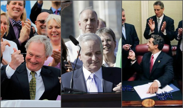 Hot Snaps Of Govs Signing Off On Gay Marriage
