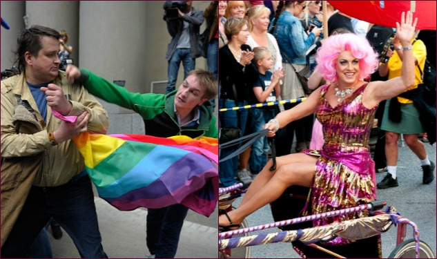 Stockholm Pride Welcomes Russian Gays