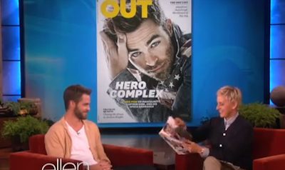 Chris Pine: 'I Cry All the Time'