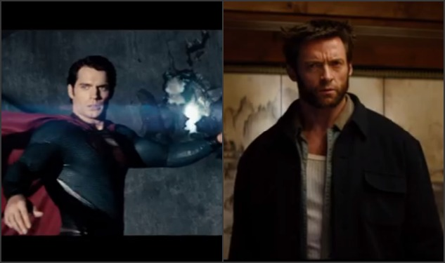 Steel Or Fur? New 'Man Of Steel' and 'Wolverine' Trailers Debut