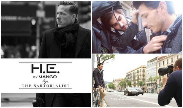 The Sartorialist Shoots H.E. by Mango Campaign