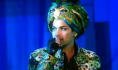 WATCH: Adam Lambert perform in a Turban