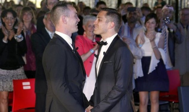France's First Gay Married Couple...