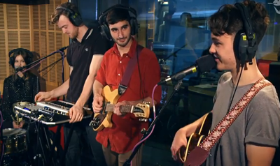WATCH: San Cisco Cover Daft Punk's 'Get Lucky' Live