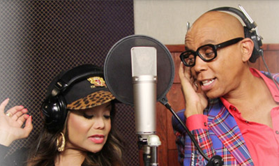 WATCH: La Toya Jackson & RuPaul Collaborate On a Dance Song