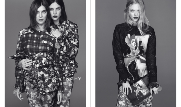 Carine Roitfeld Poses For Givenchy