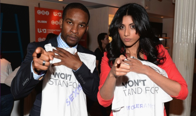 Wade Davis, Reshma Shetty Launch Characters Unite to Fight Hate in NYC
