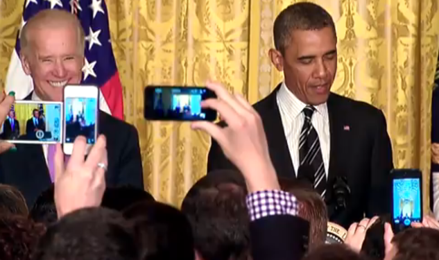 Watch: Obama Pushes ENDA At WH Pride Event