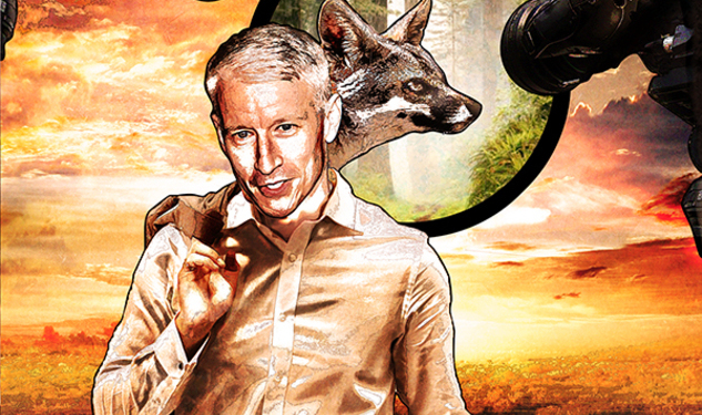 Anderson Cooper, the Comic Book