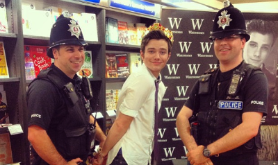 Was Chris Colfer Arrested in London?