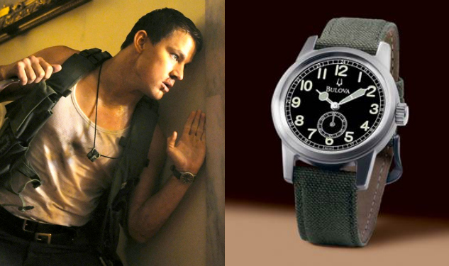 Channing Tatum's Wrist Action