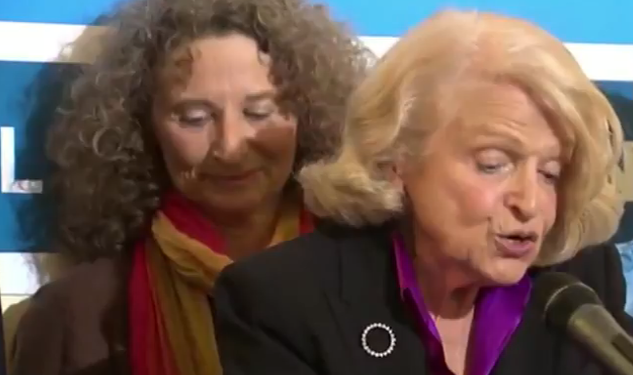 Watch: Edie Windsor Discusses DOMA's End