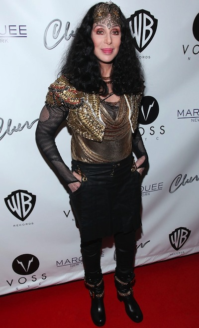 Cher Marquee Club New York City 2013