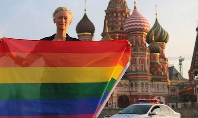Tilda Swinton: From Russia, With Pride