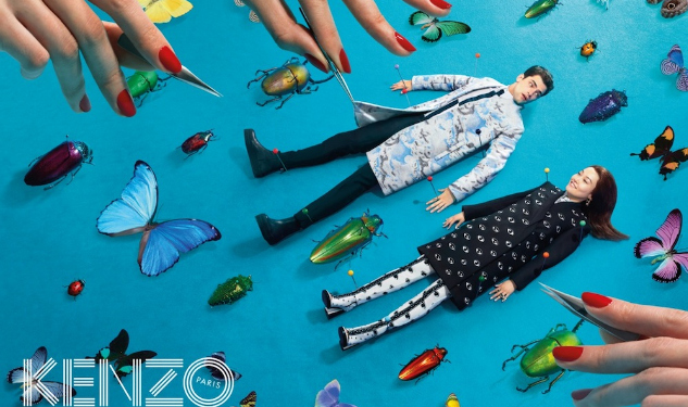 Model Watch: Sean O'Pry For Kenzo
