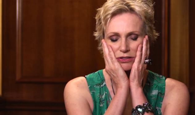 WATCH: Jane Lynch Discusses Cory Monteith's Return to Rehab