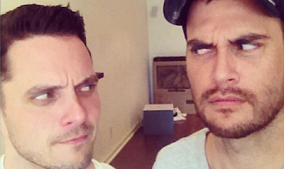 Cheyenne Jackson & Eli Lieb Record a Song Together