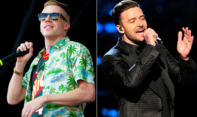 Macklemore and JT Tie In MTV Noms