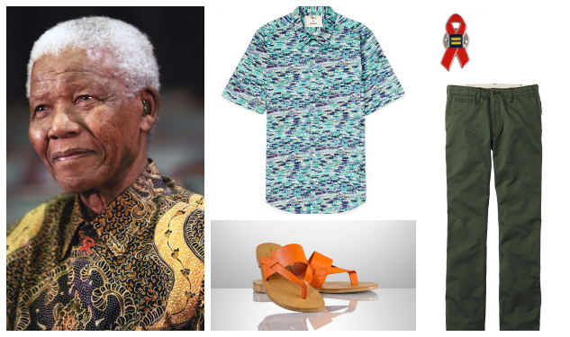 Get The Look: Nelson Mandela