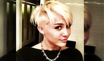 Miley Cyrus Doesn't Care If People Think She Looks Like a Lesbian