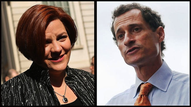 The 'Gay Pants' Candidate vs. the Gay Candidate: A Comparison of Weiner and Quinn on Gay Issues