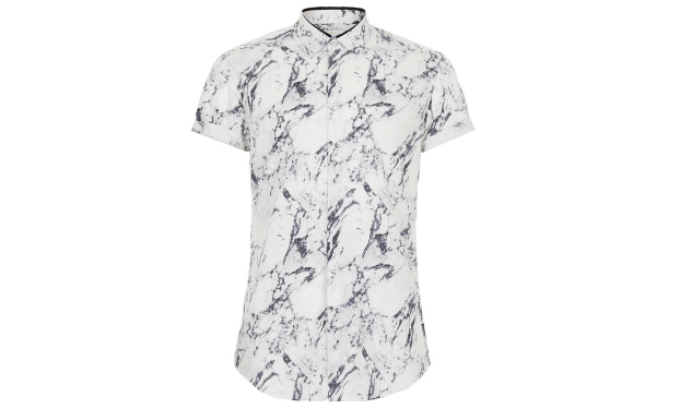 Daily Crush: Topman Marble Print Shirt