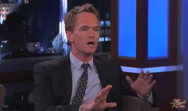 WATCH: NPH Talks Smurfs, Drugs On Kimmel