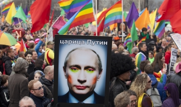 Senator Pressures Russia Over Anti-Gay Laws