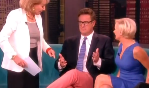 WATCH: Joe Scarborough and 'The Gay Look'
