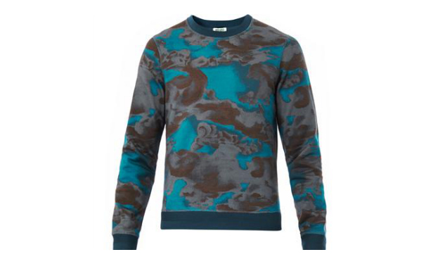 Daily Crush: Kenzo Cloud Print Sweatshirt