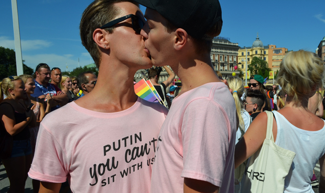 SLIDESHOW: Scenes From A Stockholm Pride
