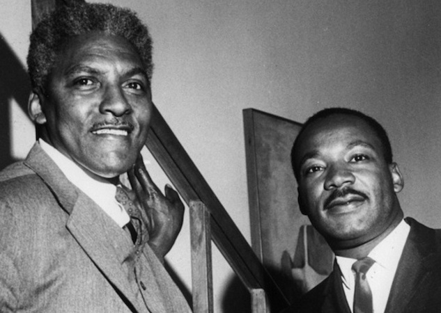 Image result for bayard rustin king